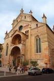 Verona, Italy, August 23, 2015, Duomo di Verona Royalty Free Stock Photos