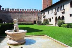 Verona, Italy, Castelvecchio Museum Stock Photo