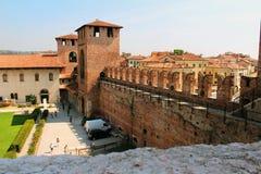 Verona, Italy, Castelvecchio Museum Royalty Free Stock Photo