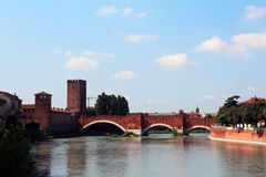Verona, Italy, Castelvecchio Stock Image