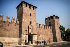 Verona Italy Centro. Verona Italy View from the Castle stock image
