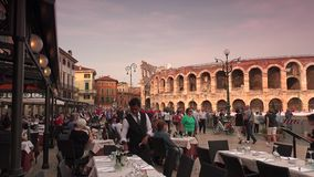 VERONA, ITALY:The city has been awarded World Heritage ;Ultra Hd 4k,real time stock video