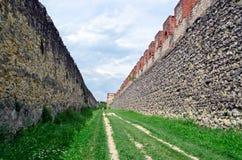 Verona, Italy, medieval town walls Stock Image