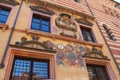 Verona, Italy, medieval wall Stock Photo