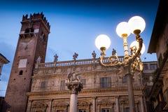 Verona Italy - paisaje urbano de Verona, Véneto fotos de archivo libres de regalías