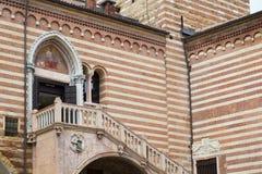 Verona,  Italy Palazzo della Ragione Royalty Free Stock Images