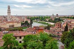 Verona (Italy), panorama Stock Image