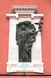Verona, Italy - Plaque to commemorate those killed in the Libyan. War in 1911-1912 Stock Photography