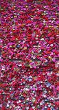 Verona, Italy. Set of padlocks with messages of love close to Romeo and Juliet`s house royalty free stock images