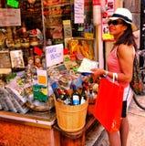 Verona Italy /21st Juni 2012/A turnerar den mogna svarta kvinnliga brasilianen royaltyfria foton
