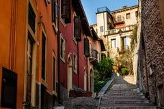 Verona Italy - Stadtbild von Verona, Venetien lizenzfreies stockbild