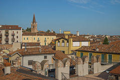 Verona, Italy, sunny summer day Royalty Free Stock Photography