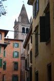Verona, Italy. View of city street, Verona, Italy royalty free stock photo