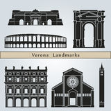 Verona landmarks and monuments Stock Photography