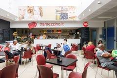 Verona lotniska wnętrze Obraz Royalty Free