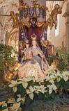Verona - Madonna in vestment from Saint Anastasia church Royalty Free Stock Photo