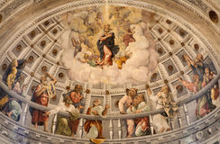 Verona - Main apse of Dom - hl. Mary and apostle Royalty Free Stock Image