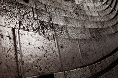 Verona, marble steps of the amphitheater Royalty Free Stock Photos