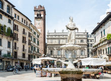 Verona Market Square Stock Image