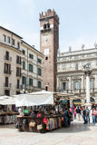 Verona Market Square Stock Images