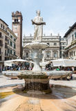 Verona Market Square Royalty Free Stock Images