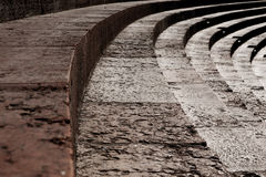 Verona marmormoment av amfiteatern Royaltyfria Foton