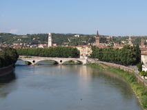 Verona - medieval castle Royalty Free Stock Photography