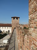 Verona - medieval castle Royalty Free Stock Images
