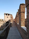 Verona - medieval castle Stock Photography