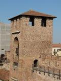 Verona - medieval castle Royalty Free Stock Image
