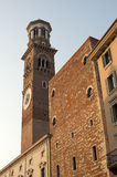 Verona, Medieval tower Royalty Free Stock Photos