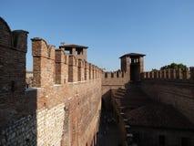 Verona - mittelalterliches Schloss Lizenzfreies Stockbild