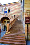 Verona old stairs,Italy Royalty Free Stock Photo