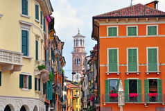 Verona old town Stock Photography