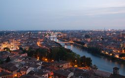 Verona panorama Royalty Free Stock Image