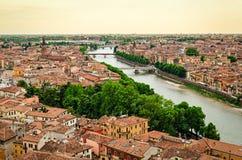 Verona panorama (Italy) Stock Photos