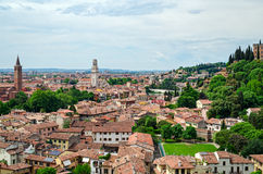 Verona, panorama (Italy) Royalty Free Stock Photo