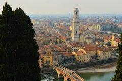 Verona panoramic view Stock Photography