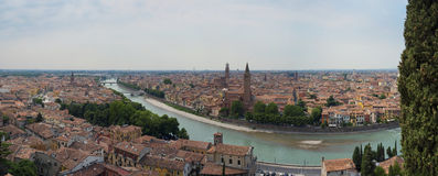 Verona panoramiczny Zdjęcia Stock