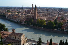 Verona. This is a picture I took in Verona, one of my favorite cities in the world Stock Photography