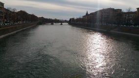 Verona river royalty free stock photos