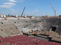 Verona, Romańska arena Zdjęcia Stock