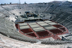 Verona - the Roman arena Stock Images