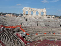 Verona, Roman arena Stock Photo