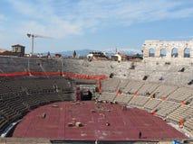 Verona, Roman arena Stock Photos