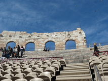 Verona, Roman Arena Royalty Free Stock Photos