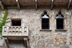 Verona, Romeo and Juliet Balcony Stock Image