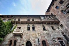 Verona, Romeo y Juliet Balcony imagen de archivo libre de regalías