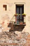 Verona-` s Balkon Stockbilder