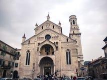 Verona ` s Duomo Zdjęcia Royalty Free